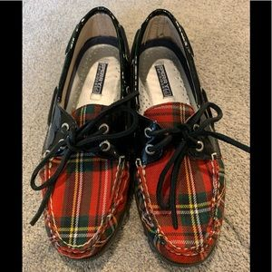 Sperry Plaid Shoes